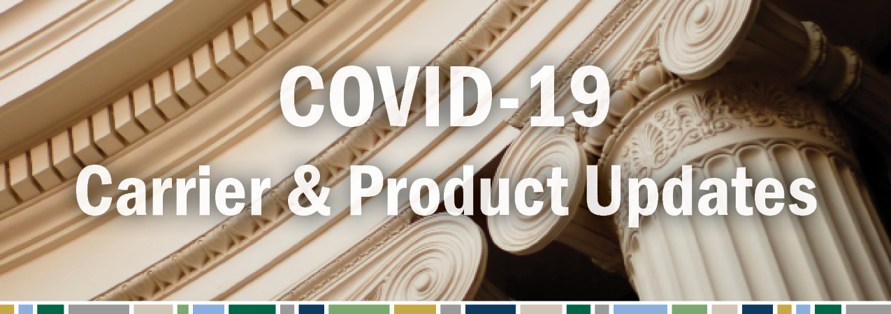 COVID-19 Carrier and Product Updates